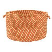 Color Market Orange Colored Basket