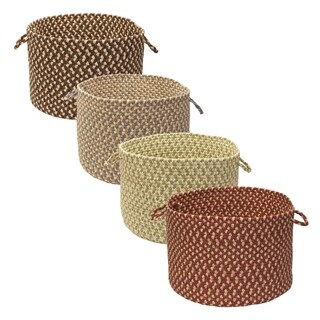 Gourmet Red 18-inch Round Basket