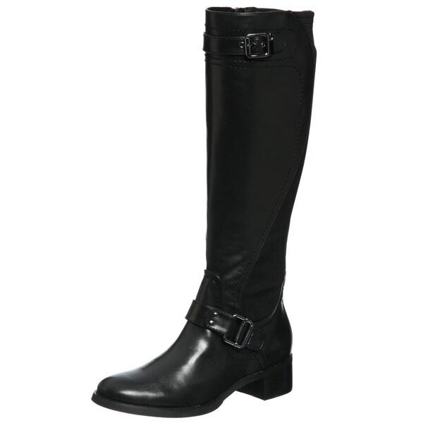 Etienne Aigner Women's 'Captain' Black Riding Boots