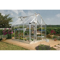 Palram Silver Snap and Grow Greenhouse (6 x 8)
