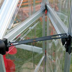 Palram Silver Snap and Grow 8ft. x 12ft. Greenhouse - Thumbnail 2