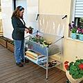 Palram GrowDeck Raised Cold Frame Greenhouse