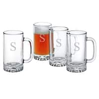 Personalized Pub Beer Mugs (Set of 4)