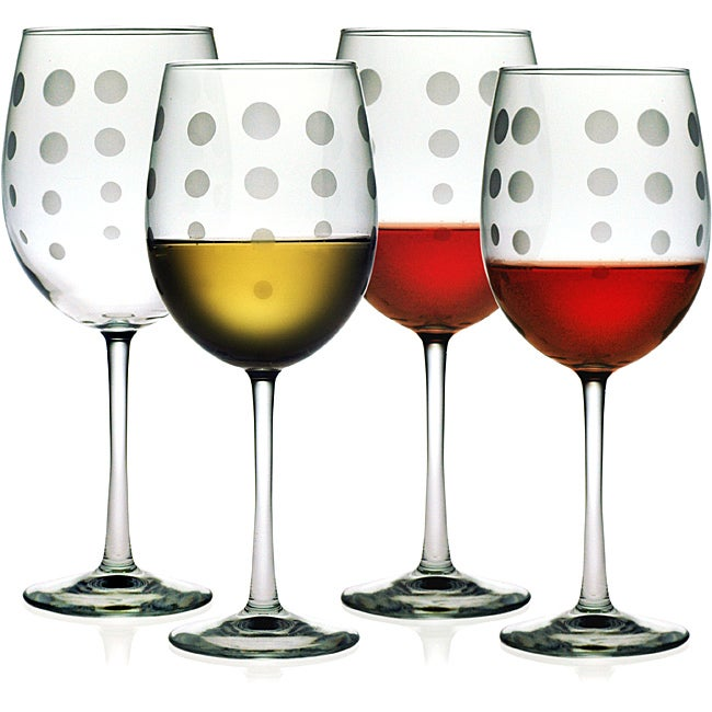 Pearls Collection Wine Glasses (Set of 4)