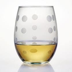 Pearls Collection Stemless Wine Glass (Set of 4) - Thumbnail 1