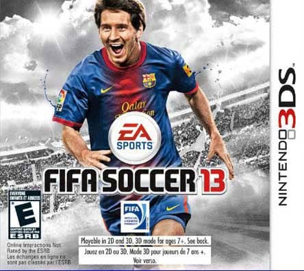 NinDS 3DS - FIFA Soccer 13