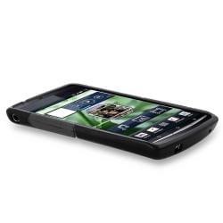 Frost Clear Black S Shape TPU Skin Case for Ericsson Xperia Arc X12