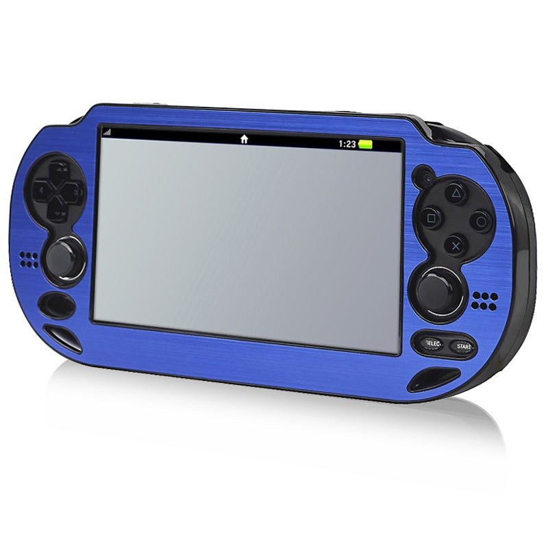 INSTEN Blue Aluminum Case Cover for Sony Playstation Vita