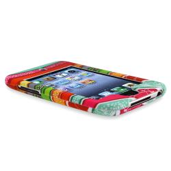INSTEN Colorful Stripes Snap-On Rubber-Coated iPod Case Cover for Apple iPod Touch Generation 2/ 3 - Thumbnail 2