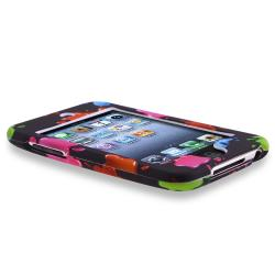 Snap-on Rubber Coated Case for Apple iPod Touch Generation 2/ 3
