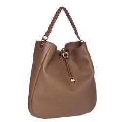 Salvatore Ferragamo Leather Hobo Bag