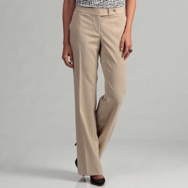 Calvin Klein Women's Sand Long Trousers