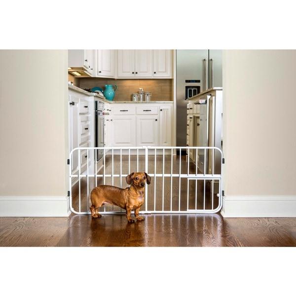Carlson Mini Tuffy Metal Expandable Pet Gate