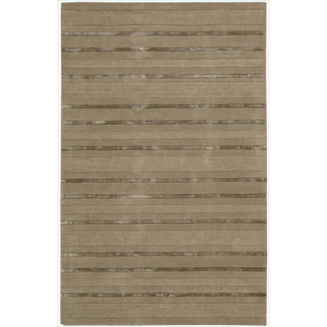 Nourison Hand-tufted Brown Sahara Rug (5'3 x 7'5)