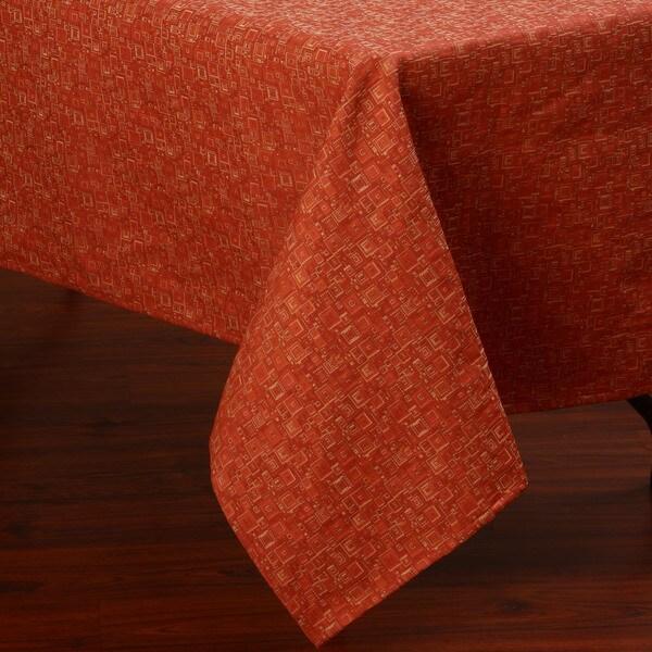Corona Decor Transitional Design 50x90-inch Italian Heavy Weight Tablecloth
