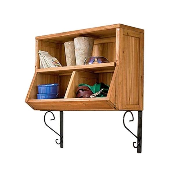 Merry Products Wall Storage Cubby with Brackets