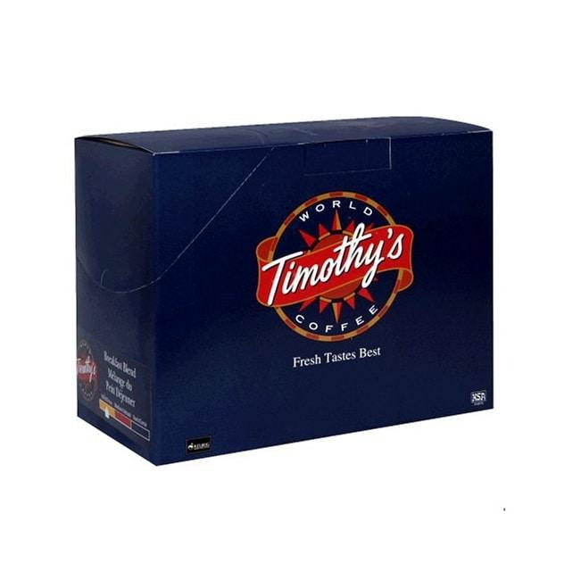Timothy's World Coffee Breakfast Blend Keurig K-Cups (Case of 96)