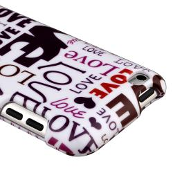 Lover Snap-on Case for Apple iPod Touch Generation 4