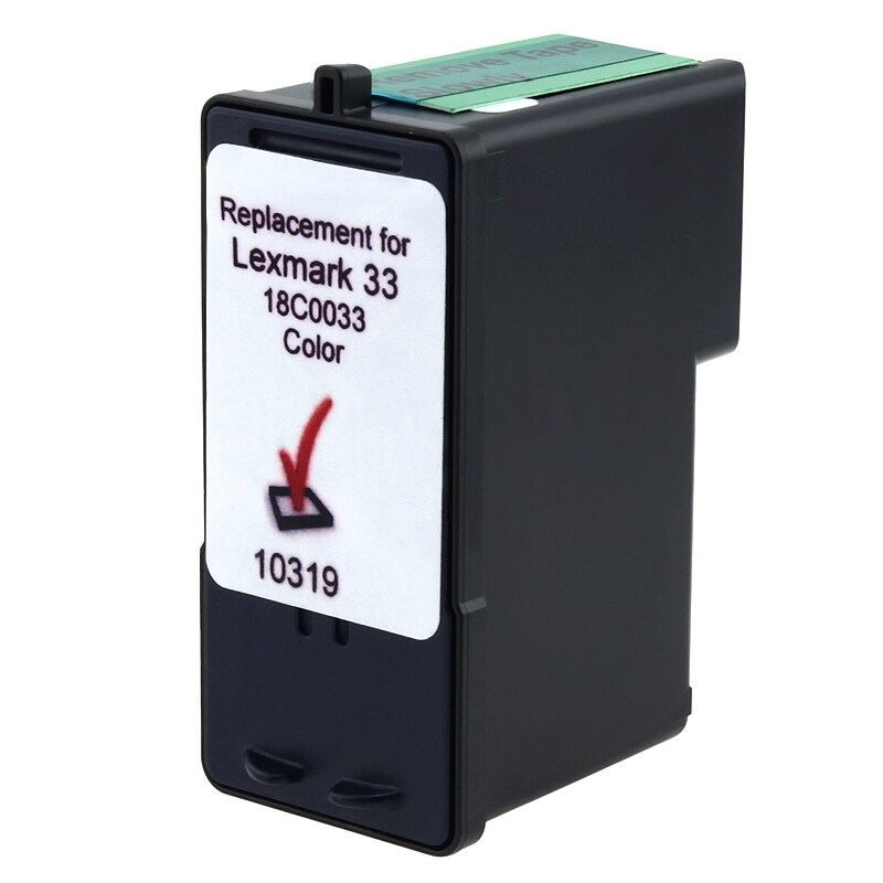 INSTEN Lexmark 33/ 18C0033 Color Ink Cartridge (Remanufactured)
