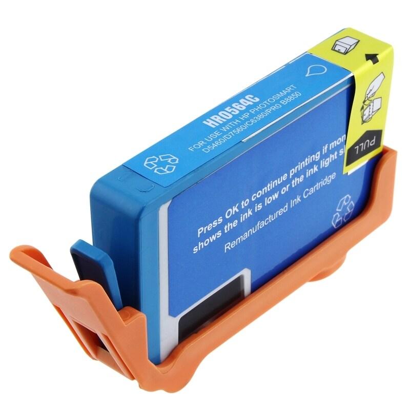 INSTEN HP 564XL/ CB323WN/ CB317WN Cyan Ink Cartridge (Remanufactured)