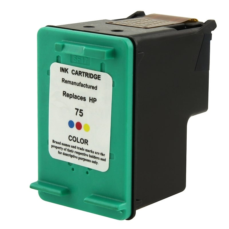 INSTEN HP 75/ DB337WN Color Ink Cartridge (Remanufactured)