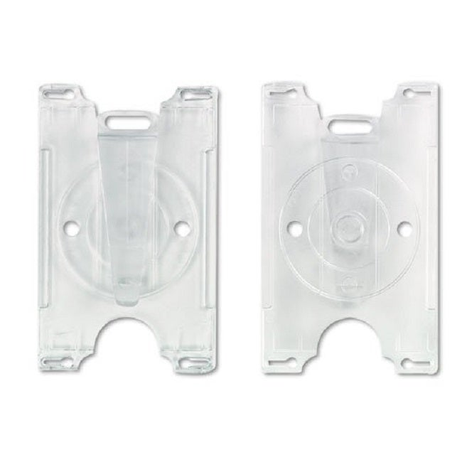 GBC BadgeMates Convertible Clear Card Holders (Pack of 25...