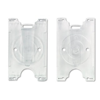 GBC BadgeMates Convertible Clear Card Holders (Pack of 25)