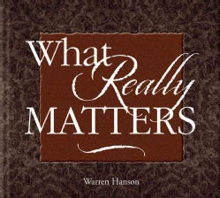 What Really Matters (Hardcover)