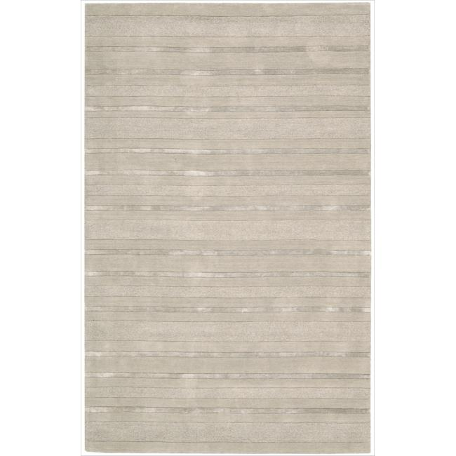 Nourison Hand-tufted Grey Sahara Rug (1'9 x 2'9)