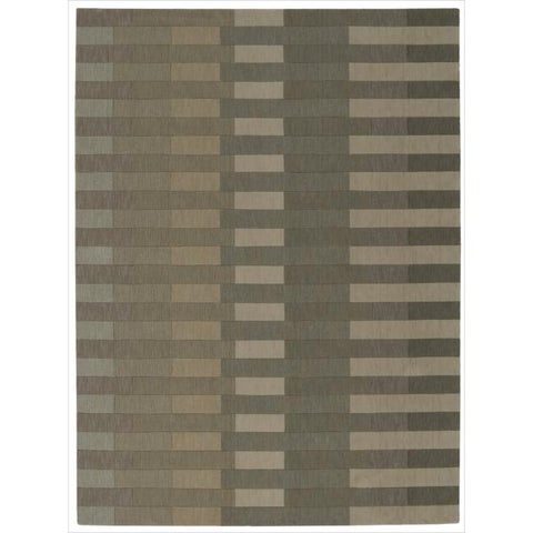 """Calvin Klein Loom Select Sage Area Rug by Nourison - 3'6"""" x 5'6"""""""