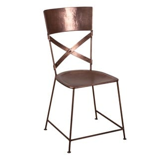 X-Back Copper Dining Chair