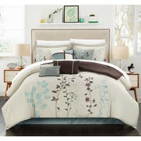 Copper Grove Buttercup 8-piece Beige Oversized Comforter Set