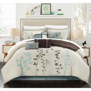 The Gray Barn Sleeping Hills 8-piece Beige Oversized Comforter Set