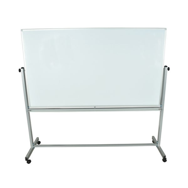 Offex Mobile Dry Erase Double Sided and Magnetic 40 in. H x 72 in. W Whiteboard