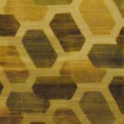 Tibetan Hand-knotted Green/ Light Green Wool Rug (8' x 9'8) - Thumbnail 2