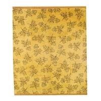 Herat Oriental Tibetan Hand-knotted Wool Rug (8' x 10') - 8' x 10'