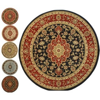 Medallion Traditional Area Rug (5'3 Round)