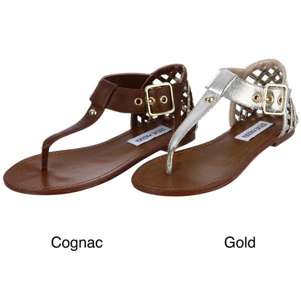 Steve Madden Women's 'Suttle' Studded Thong Sandals