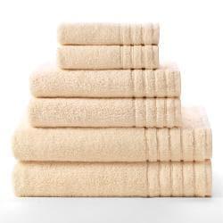 Celebration Super Zero Twist Solid 6-piece Towel Set - Thumbnail 1