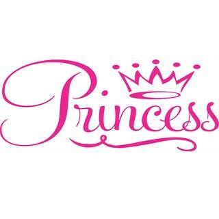 Girls Room 'Princess Crown' Vinyl Wall Art Decal