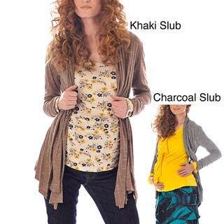 Lilac Clothing 'Ashley' Women's Maternity Cardigan