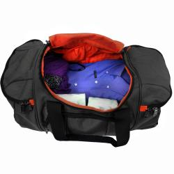 Kenneth Cole Reaction 'Hitchin' A Ride' Designer 22-inch Carry On Rolling Upright Duffel Bag - Thumbnail 2