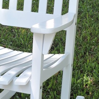 Laurel Creek Agnes Traditional Rocking Chair