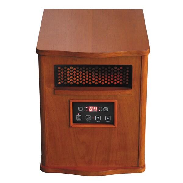 Comfort Glow Qeh1410 Infrared Quartz Heater Free