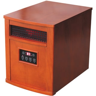 Comfort Glow QEH1500 Oak Infrared Quartz Heater with Remote