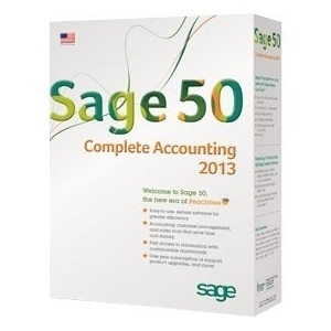Sage 50 2013 Complete Accounting - Complete Product - 1 User - Standa