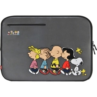 """iLuv Peanuts Carrying Case (Sleeve) for 13"""" Notebook - Gray"""