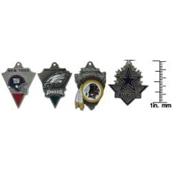 Carolina Glamour Collection Enamel-on-pewter NFC East Team Licensed NFL Pennant Necklace