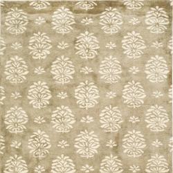 Safavieh Handmade Soho Seasons Beige New Zealand Wool Rug (6' Square)