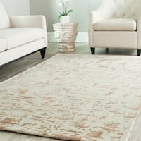 "Safavieh Handmade Soho Ivory New Zealand Wool Rug - 8'-3"" X 11'"